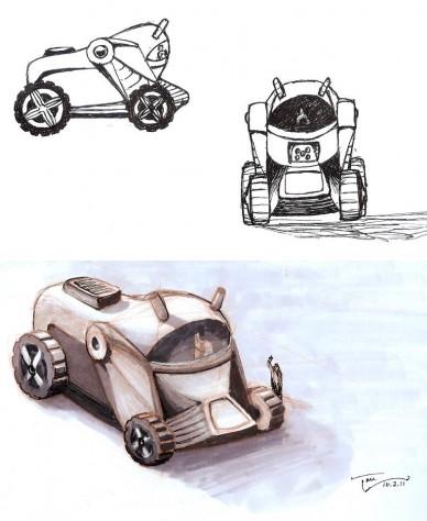 Mechanimal, Panda Truck